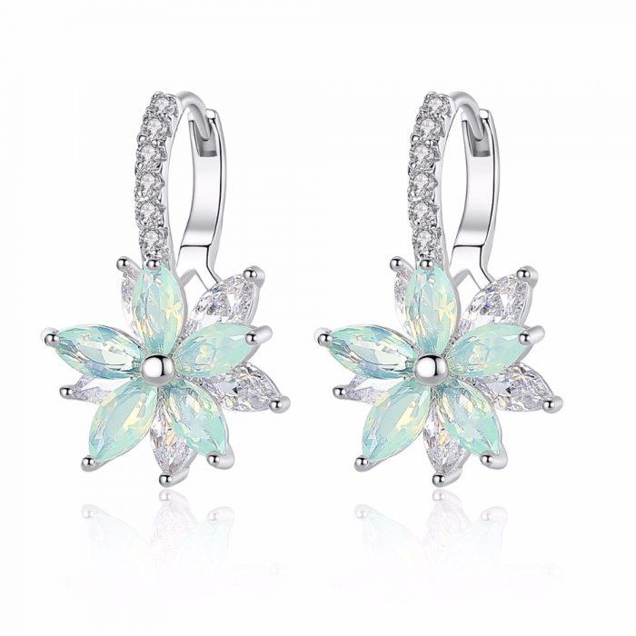 Flower Shaped Earrings for women