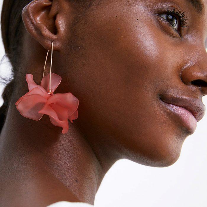 plant earrings