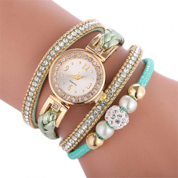 Diamonds Round Watch