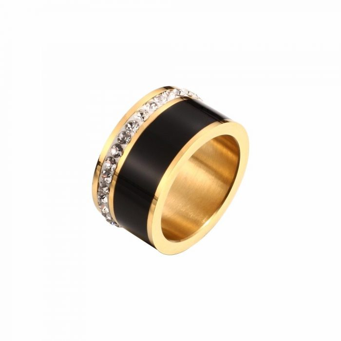 Men's Ring with Cubic Zirconia