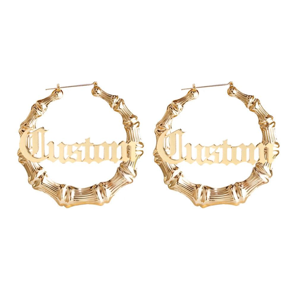Women's Personalized Stainless Steel Earrings