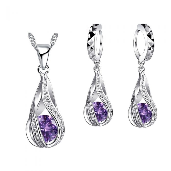 Sterling Silver Jewelry Set