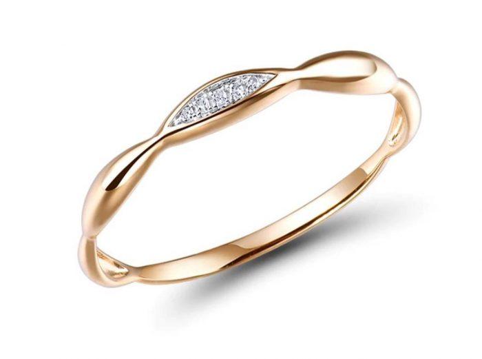 14K Gold Crystal Ring